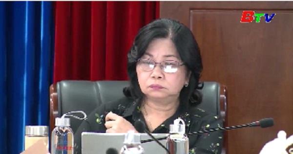 Ban VHXH thẩm tra các nội dung trình kỳ họp thứ 12 , HĐND tỉnh khóa IX