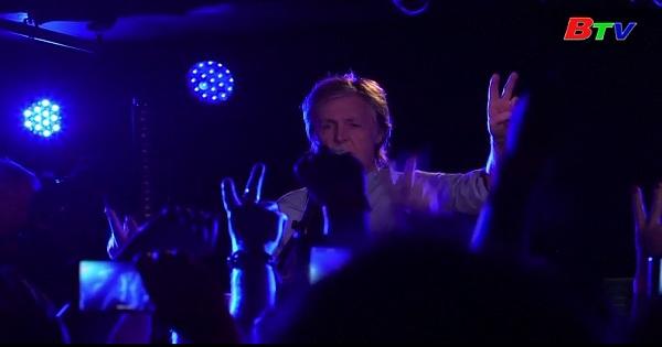 Ca sĩ Paul  MC Carney sẽ biểu diễn chính tại lễ hội âm nhạc Glastonbury 2010