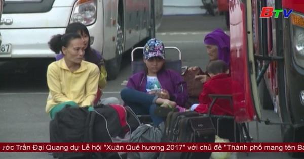 Đảm bảo vận tải hành khách vào dịp Tết Nguyên Đán