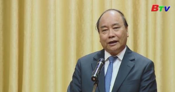 Thủ tướng Nguyễn Xuân Phúc gặp mặt lãnh đạo các cơ quan thông tấn, báo chí