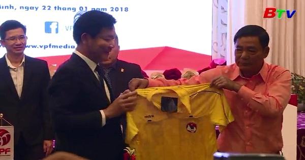 Bốc thăm xếp lịch thi đấu bóng đá chuyên nghiệp Việt Nam mùa giải 2018