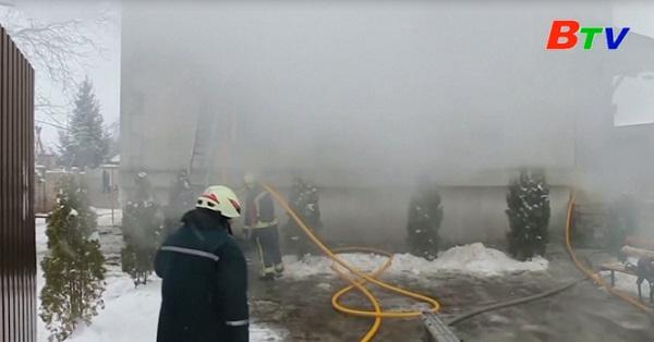 Hỏa hoạn tại Ukraine và Ấn độ