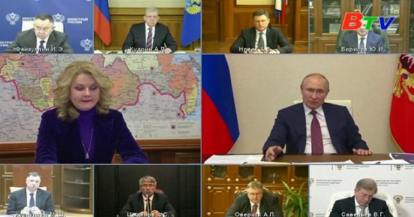 Tổng thống Nga đề xuất dỡ bỏ giới hạn độ tuổi đối với công chức