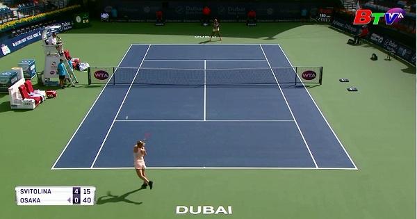 Svitolina giành quyền vào bán kết Dubai Tennis Championship 2018