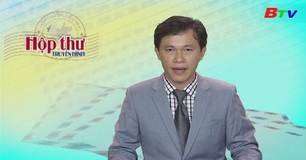 Hộp thư Truyền hình (Chương trình ngày 20/3/2017)