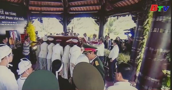 Tổ chức trọng thể lễ truy điệu và an táng thủ tướng Phan Văn Khải
