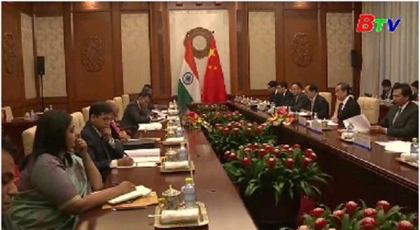 Ấn Độ và Trung Quốc thảo luận về mối quan hệ song phương