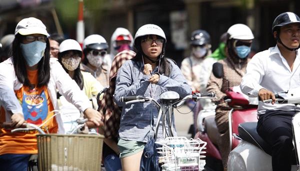 Tây Bắc Bộ và từ Thanh Hóa đến Phú Yên vẫn nắng nóng, có nơi trên 38 độ