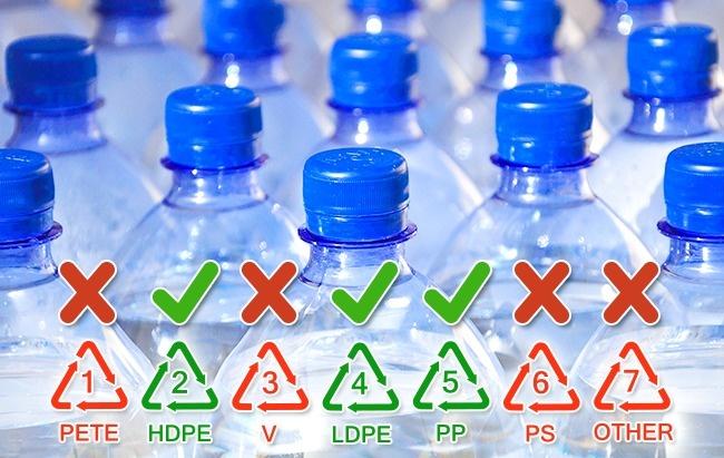 Cuộc sống thứ hai của chai nhựa