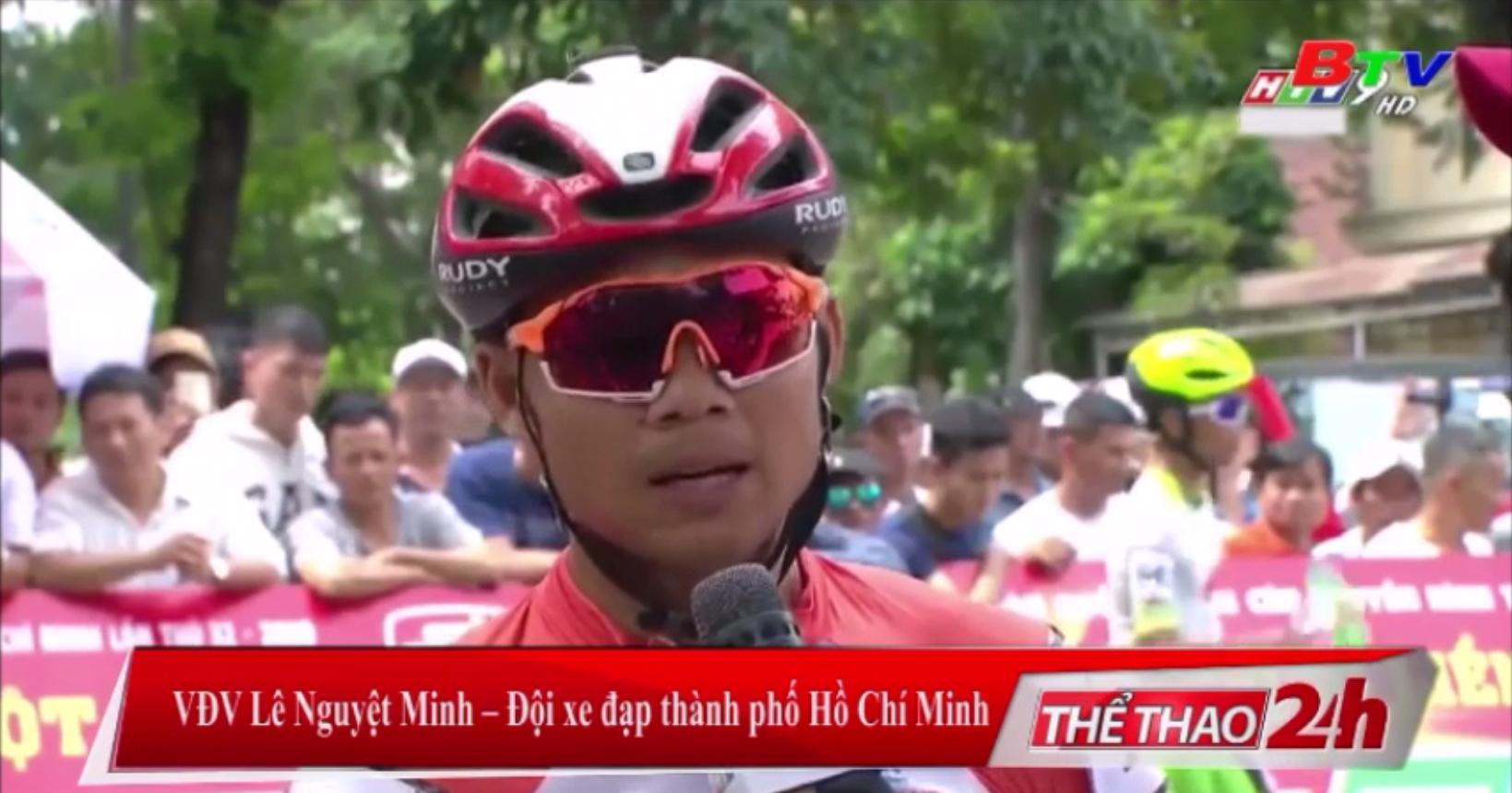 Chiến thắng đầu tay của Lê Nguyệt Minh
