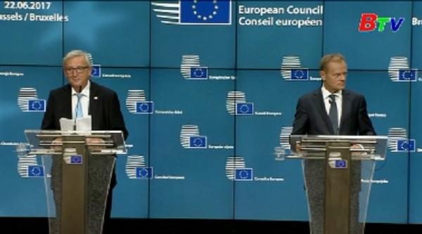 EU nhất trí gia hạn trừng phạt Nga