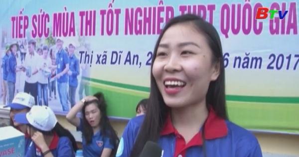 Đoàn thanh niên Thị xã Dĩ An với chương trình Tiếp sức mùa thi