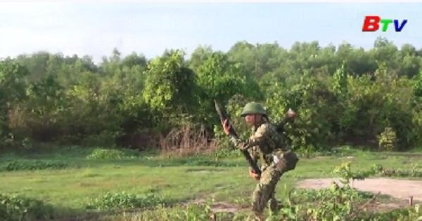 Trung đoàn 31 diễn tập chiến thuật có bắn đạn thật năm 2020