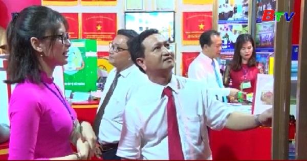 Thành phố Thủ Dầu Một khai mạc triển lãm thành tựu phát triển kinh tế - xã hội, quốc phòng - an ninh (2015-2020)