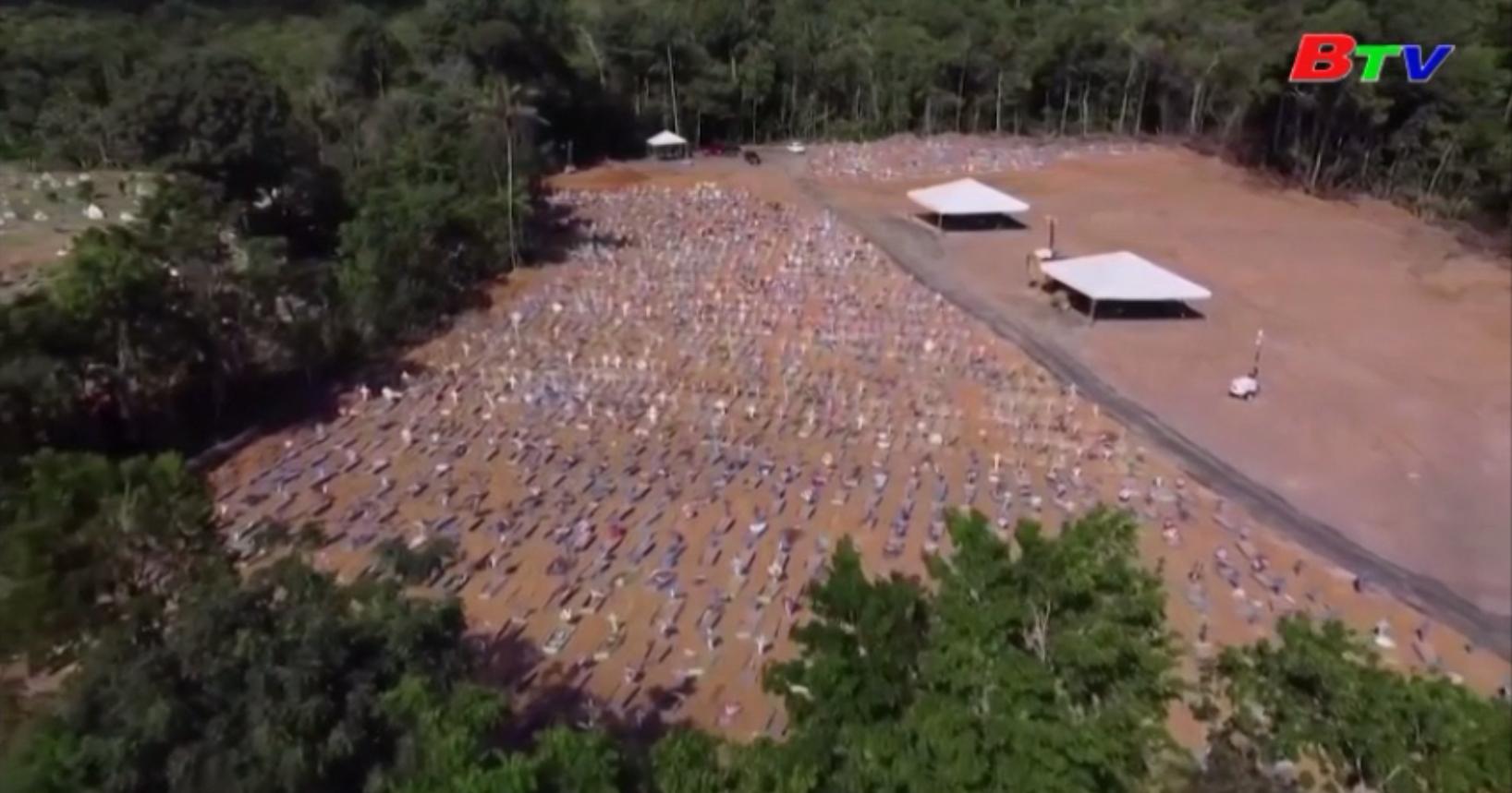 Số ca tử vong ở Brazil vượt 50.000