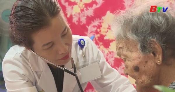 Becamex tổ chức khám chữa bệnh cho các mẹ Việt Nam anh hùng và thương binh