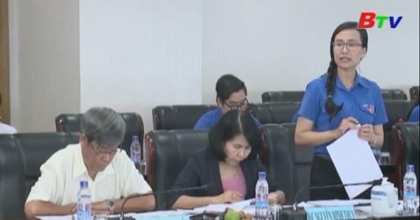 Lãnh đạo tỉnh ủy duyệt chương trình Đại hội đoàn nhiệm kỳ 2017-2022