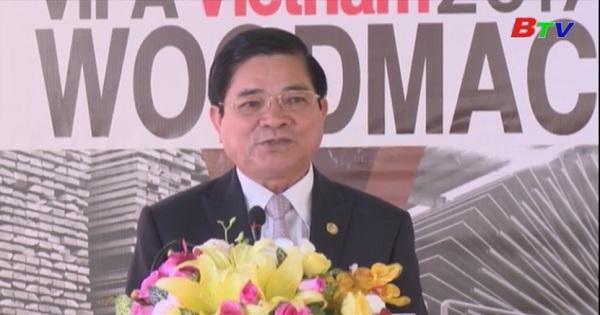 Khai mạc Hội chợ máy móc và gỗ nguyên liệu Việt Nam 2017
