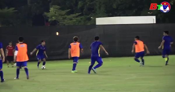 Vòng 1/8 môn bóng đá nam Asiad - 2018 - Trước trận U23 Việt Nam - U23 Bahrain