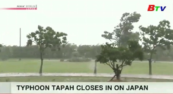 Nhật Bản - Hàn Quốc ứng phó với bão Tapah