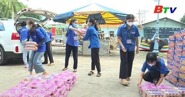 Đội xe tình nguyện phòng chống dịch lan tỏa những câu chuyện đẹp