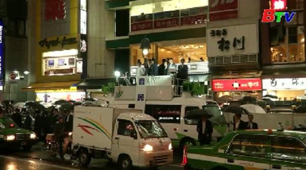 Liên minh của Thủ tướng Abe dự kiến giành chiến thắng vang dội