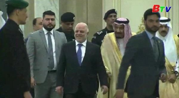 Saudi Arabia và Iraq cam kết hợp tác chống IS