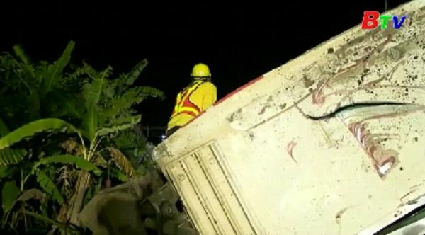 Hơn 200 người thương vong trong vụ tai nạn đường sắt ở Đài Loan