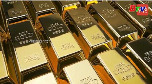 Giá vàng châu Á tăng lên gần sát mức cao nhất trong hơn 2 tháng qua