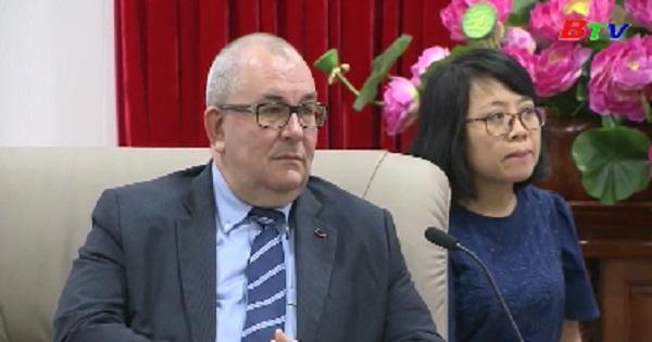Lãnh đạo tỉnh Bình Dương tiếp và làm việc với đại sứ Vương quốc Bỉ tại Việt Nam