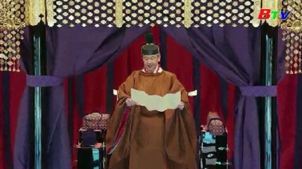 Nhật hoàng Naruhito tuyên bố đăng quang