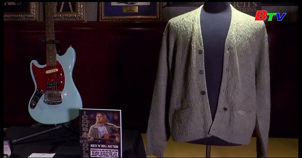 Sắp bán đấu giá kỷ vật của các huyền thoại âm nhạc tại nhà đấu giá Julien