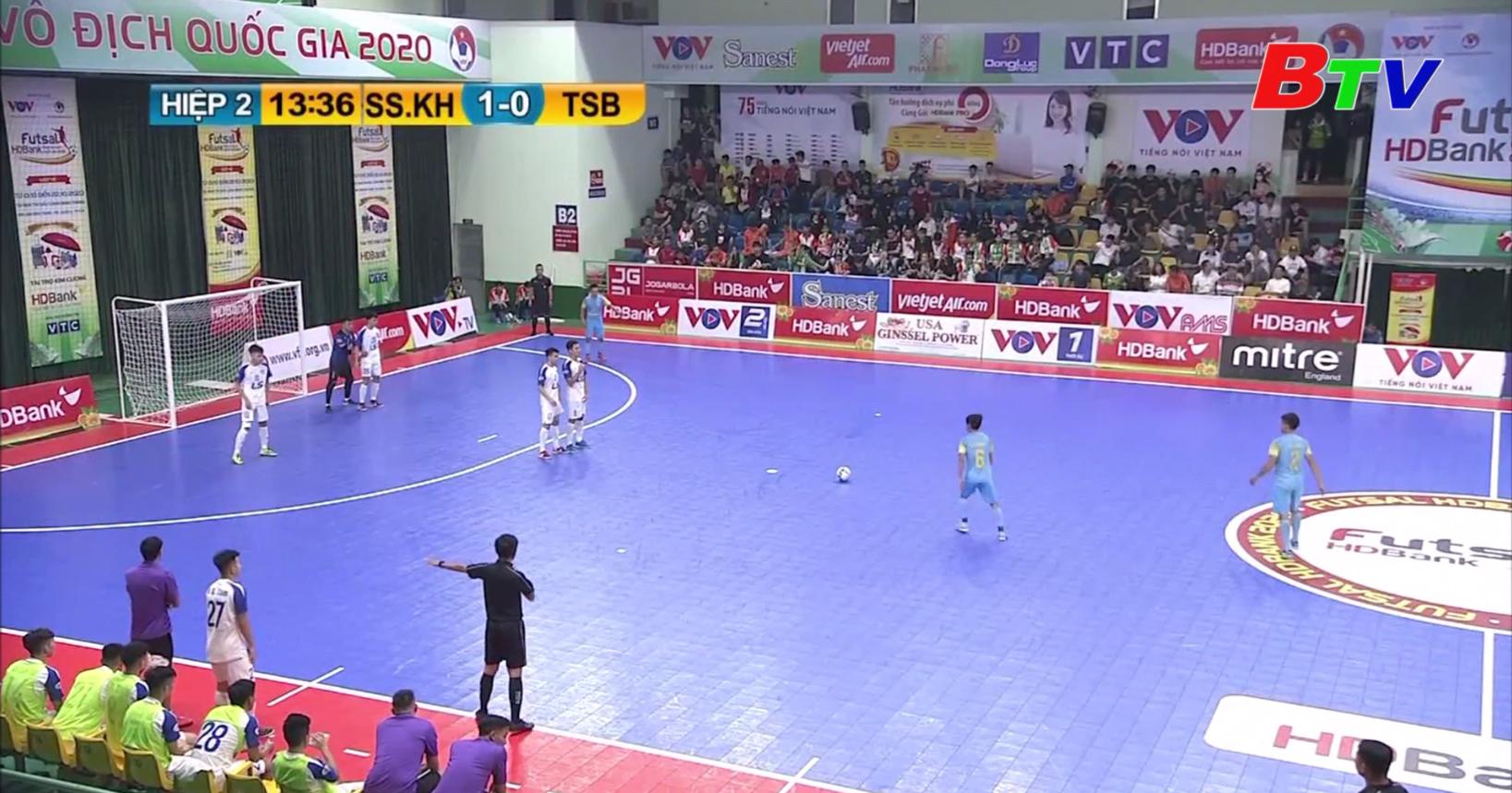Kết thúc Vòng chung kết Giải Futsal vô địch Quốc gia 2020