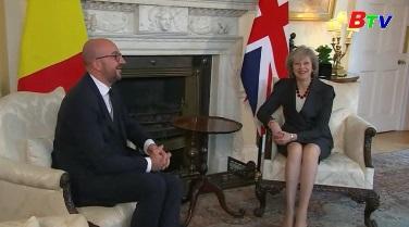 Thủ tướng Bỉ kêu gọi một Brexit thông minh