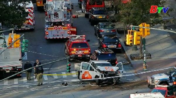 Mỹ buộc tội khủng bố, giết người đối với đối tượng tấn công ở New York
