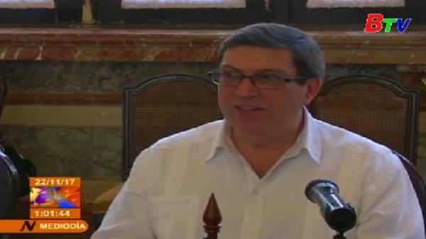 Bộ trưởng Ngoại giao Triều Tiên thăm Cuba
