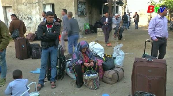 Các phe phái Palestine thống nhất tổ chức bầu cử vào cuối 2018