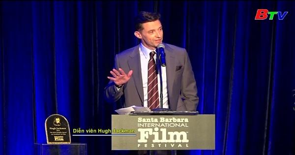 Hugh Jackman được vinh danh tại LHP Quốc tế Santa Barbara