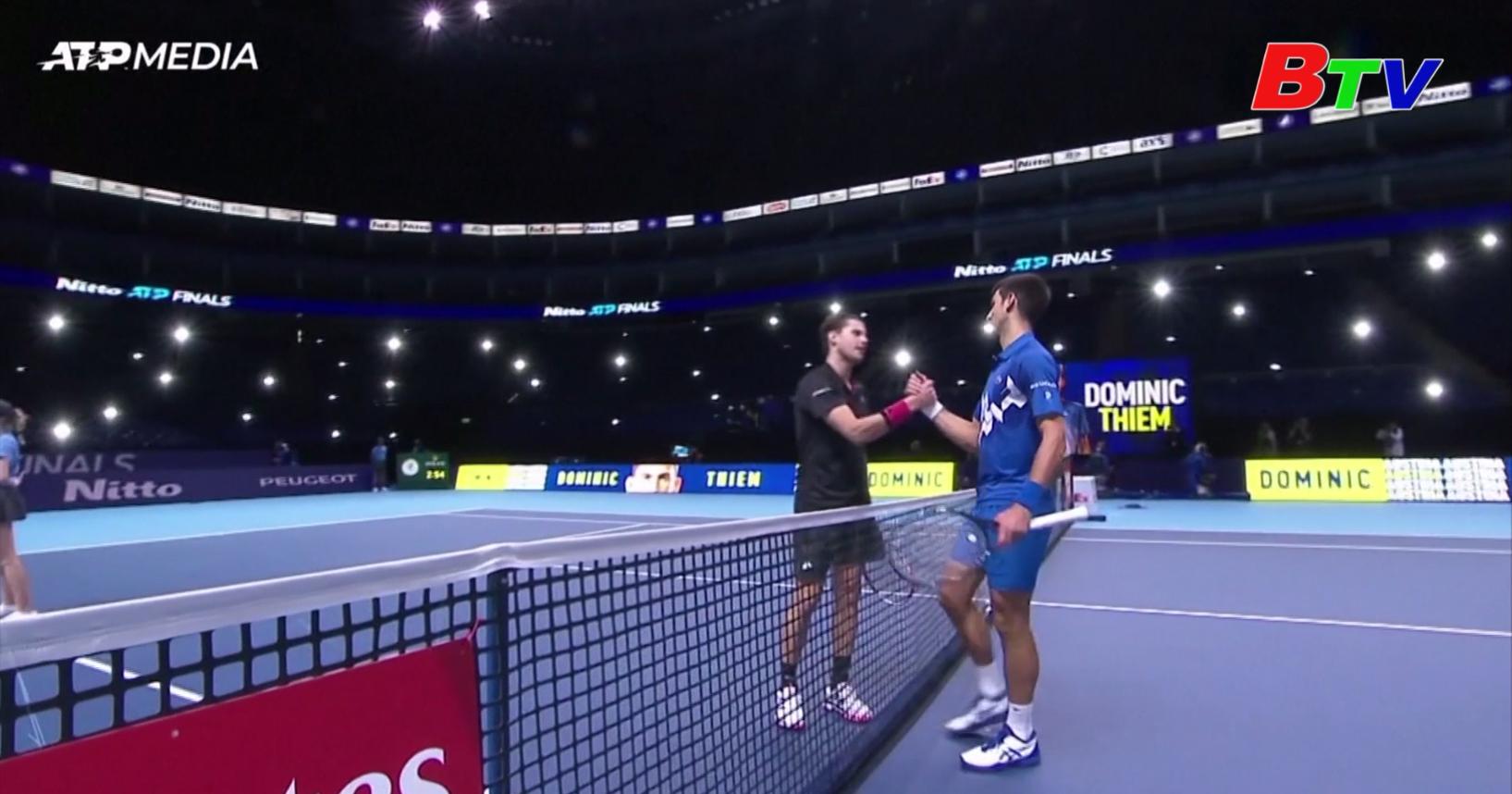 Kết quả vòng bán kết ATP Finals 2020