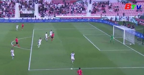 Vòng 1/8 Asian Cup 2019 - Hàn Quốc 2-1 Bahrain