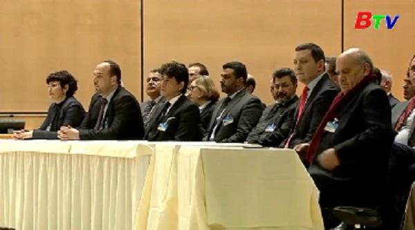Hòa đàm về Syria tại Geneva được nối lại sau 10 tháng đổ vỡ