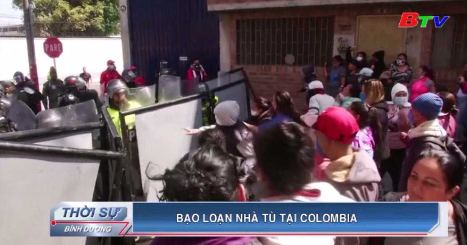 Bạo loạn nhà tù tại Colombia
