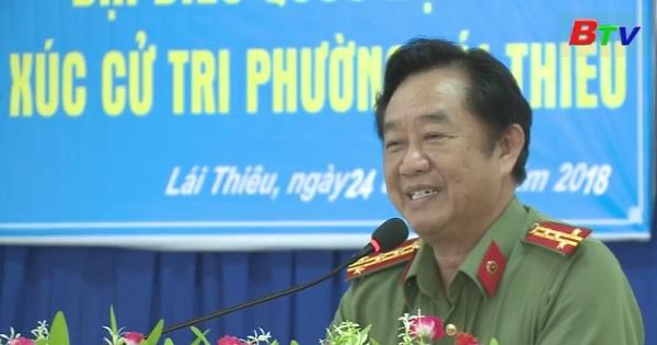 Đại biểu Quốc hội tỉnh Bình Dương tiếp xúc cử tri phường Lái Thiêu, Tx.Thuận An