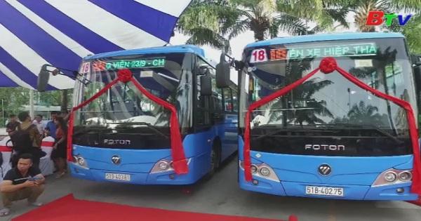 Tp.HCM đầu tư thêm gần 200 xe buýt mới