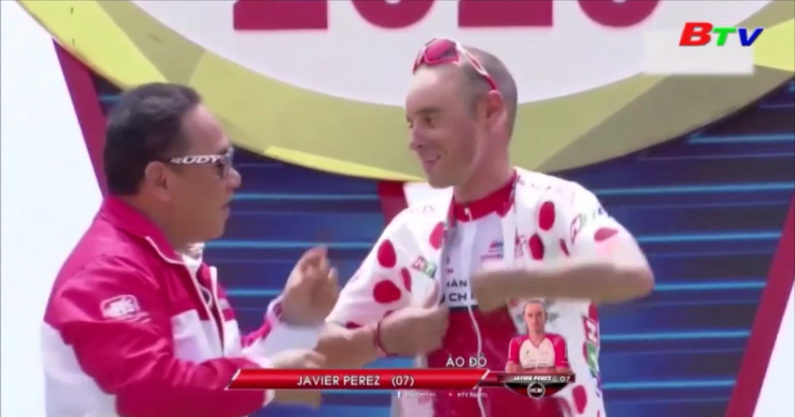 Chặng 5 Cúp Truyền hình TP.HCM lần thứ 32 - Tay đua Javier chiếm áo chấm đỏ