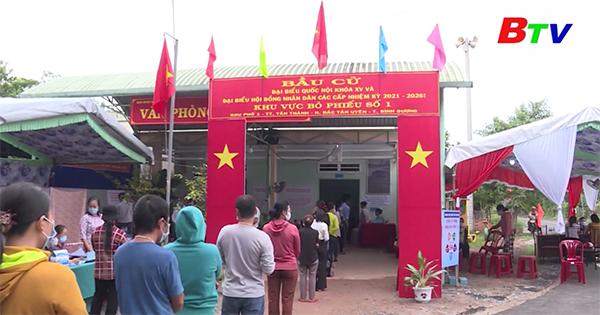 Huyện Bắc Tân Uyên quyết tâm đạt 100% cử tri đi bầu