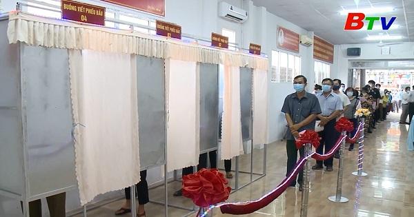 Thủ Dầu Một hoàn thành công tác bầu cử