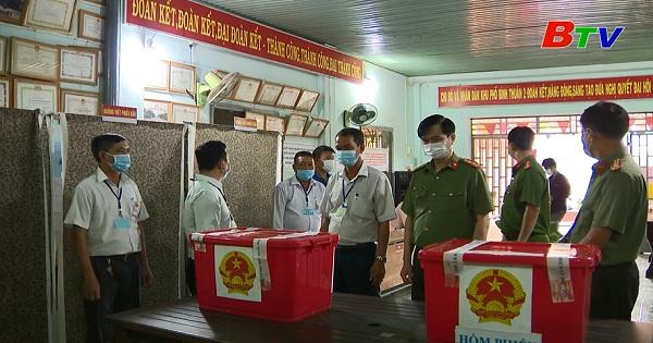 Tổng hợp công tác bầu cử ở thành phố Thuận An