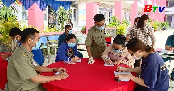 Nhân dân Bàu Bàng với ngày hội toàn dân