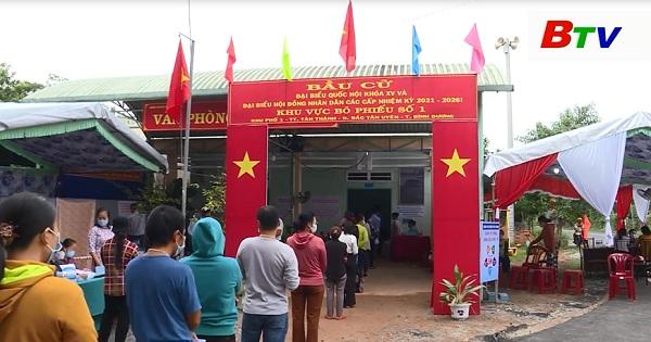 Huyện Bắc Tân Uyên hoàn thành công tác bầu cử